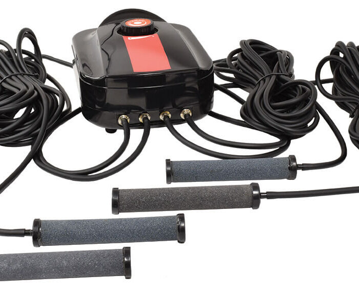 Easy Pro CAS4 Compact Aeration Series – 4 Outlet Complete Sub-Surface Aeration Kit