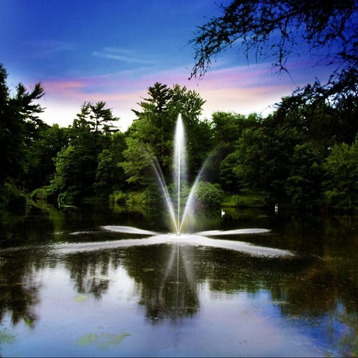 Scott Aerator SOLAR POWERED Decorative Fountains:  Clover, Gusher, Skyward, Twirling Waters