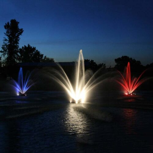 Fountain Head and Nozzles