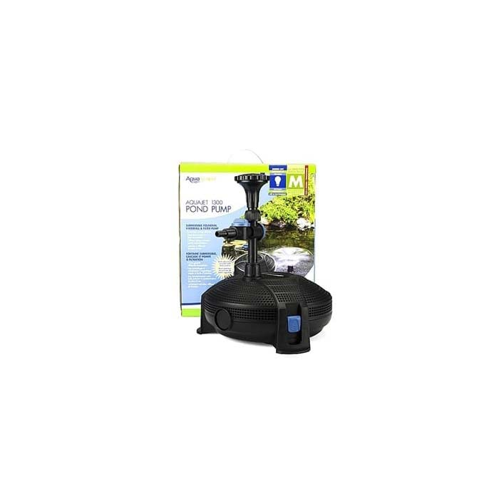 Aquascape Aquajet Pump + 3 Fountain Heads
