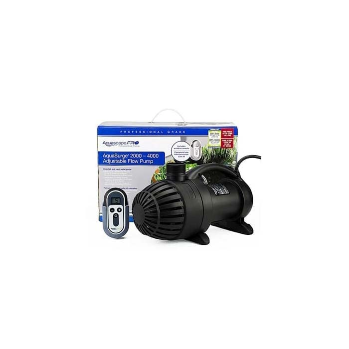 Aquascape AquaSurge Pro Pump with Remote