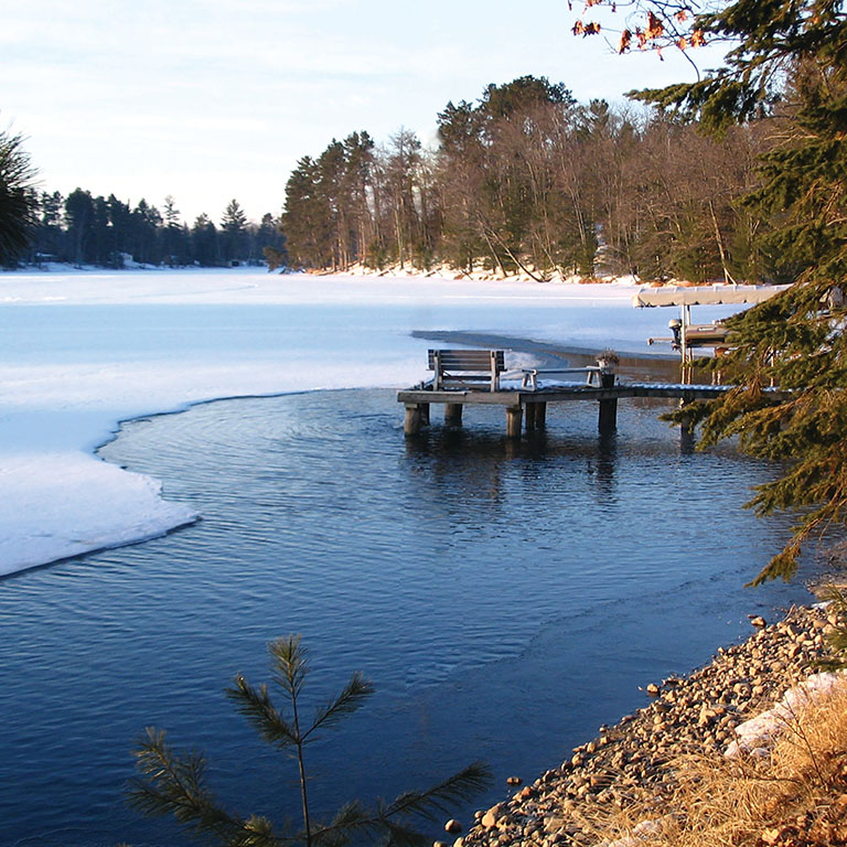 Pond De-icers and Dock Bubblers